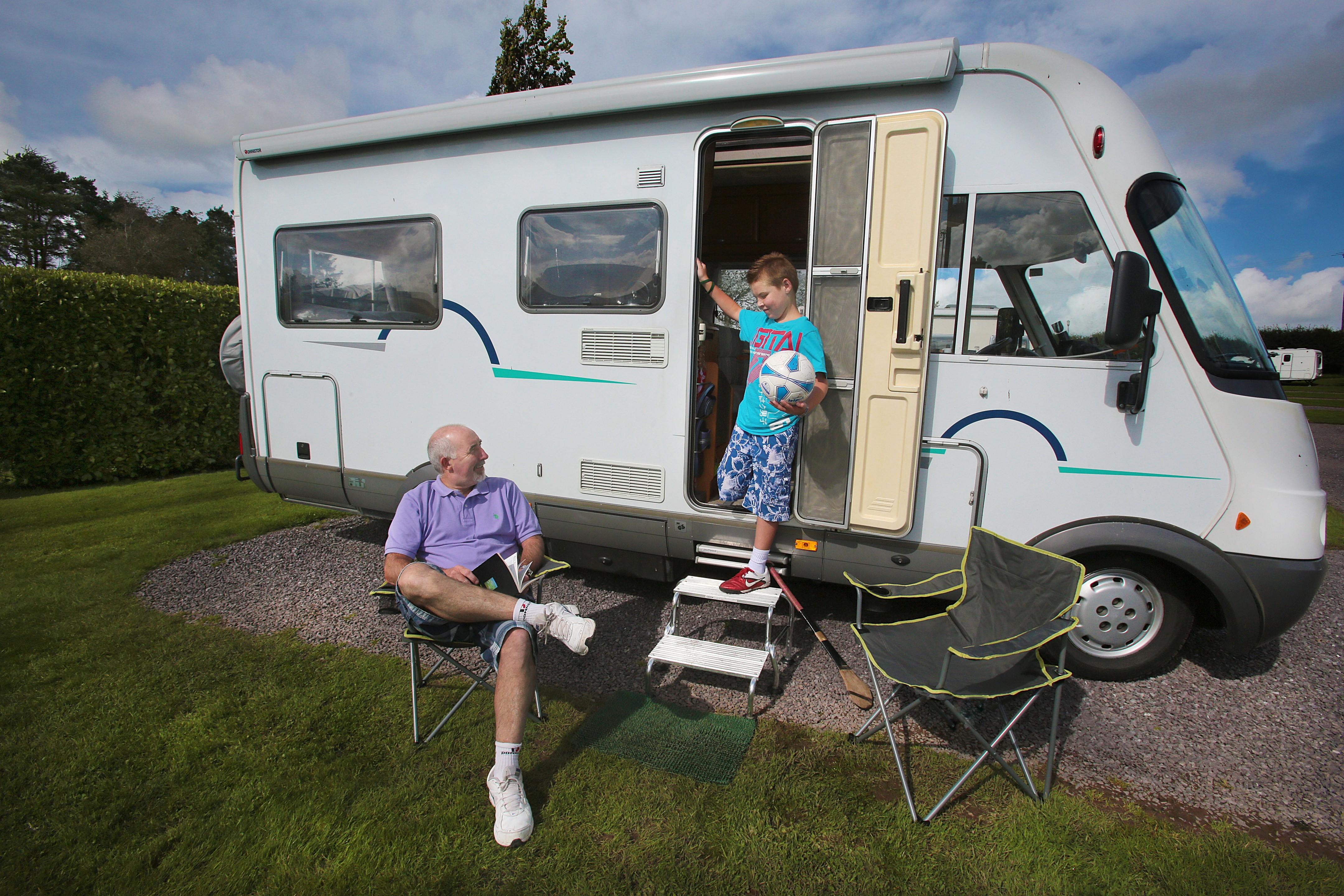 Motorhome Campervan Holiday Ireland