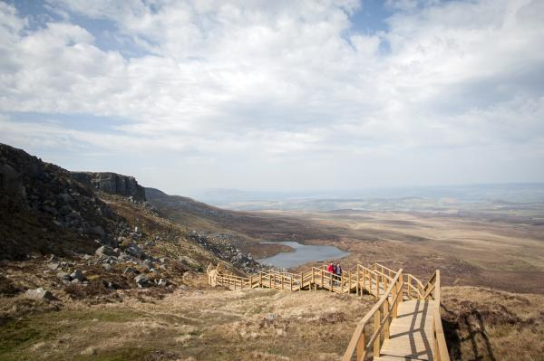 Camping in Ireland - Cuilcagh Way Fermanagh