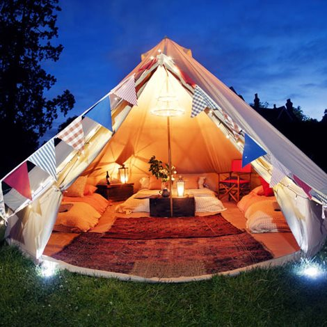 Glamping Night