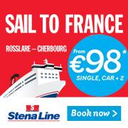 Stena Line - Sail to France