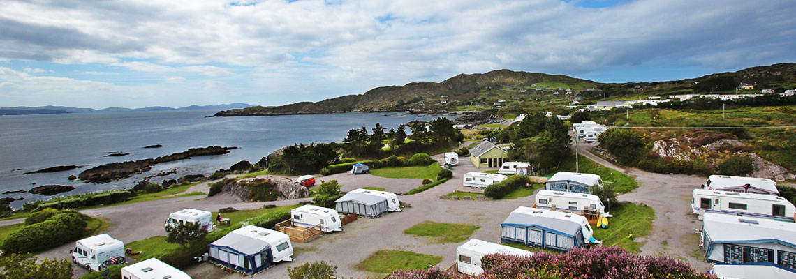 Camping Ireland Only Tourist Board Approved Parks